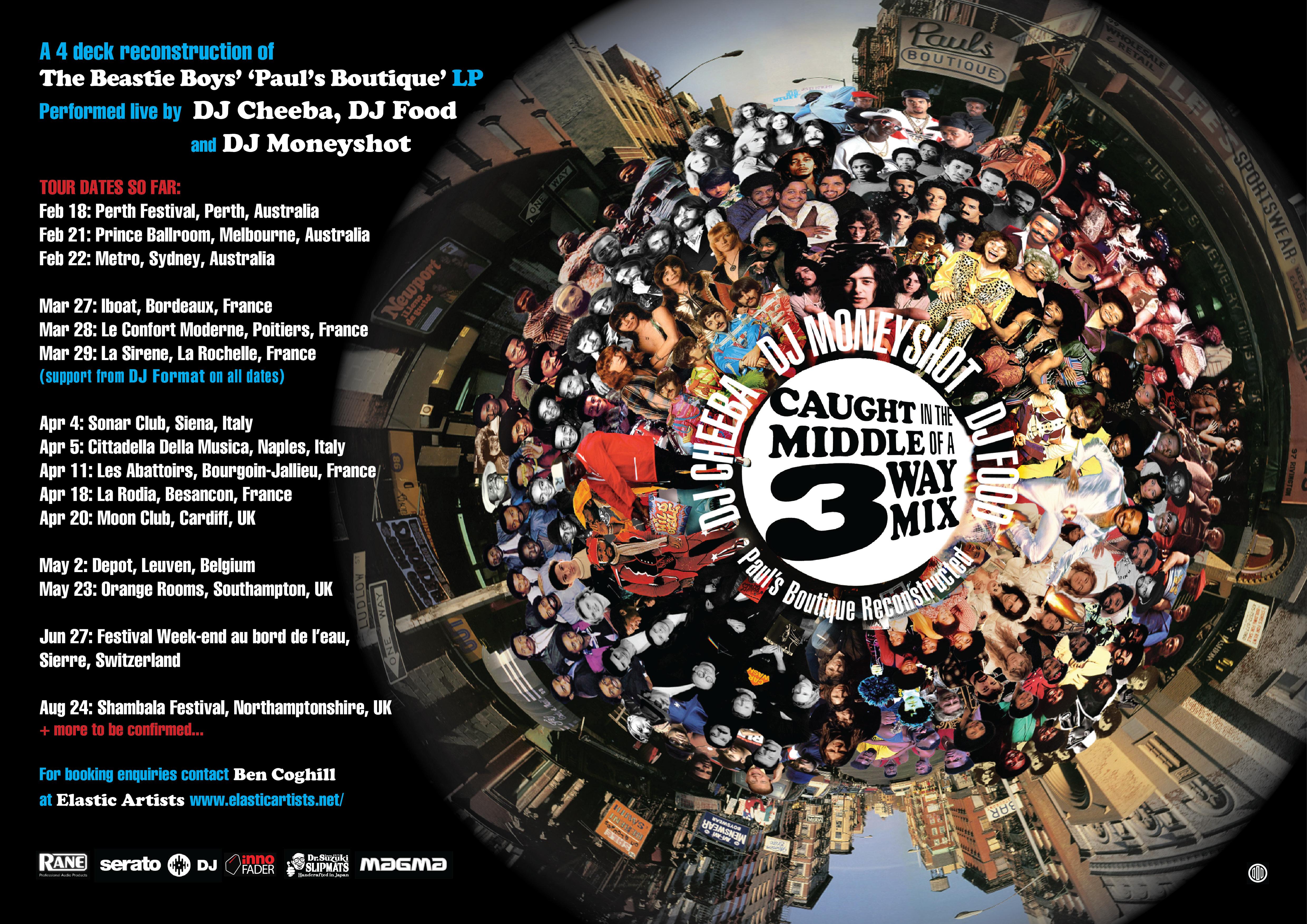 3-Way Tour 2014 poster 3.5