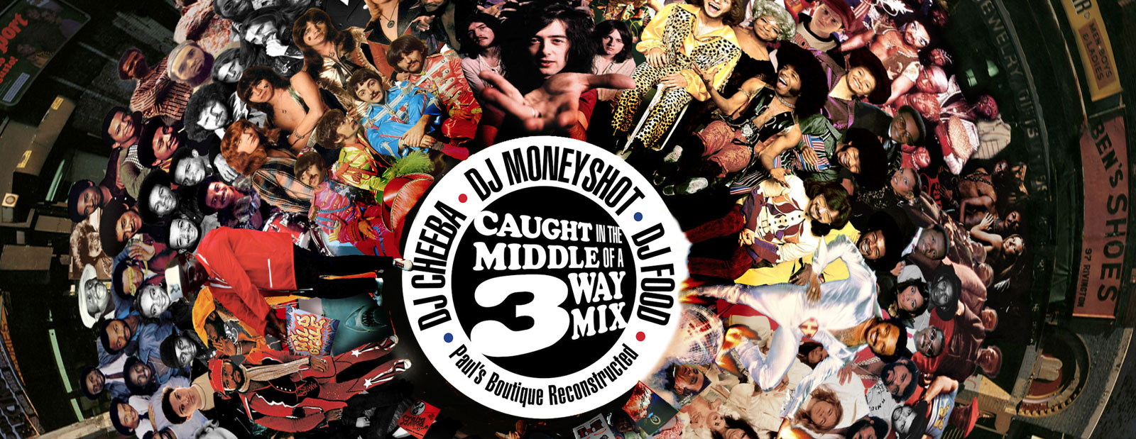 Caught In The Middle of A 3 Way Mix' – DJ's