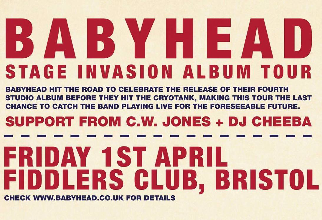 Babyhead (feat. DJ Cheeba) + AV show