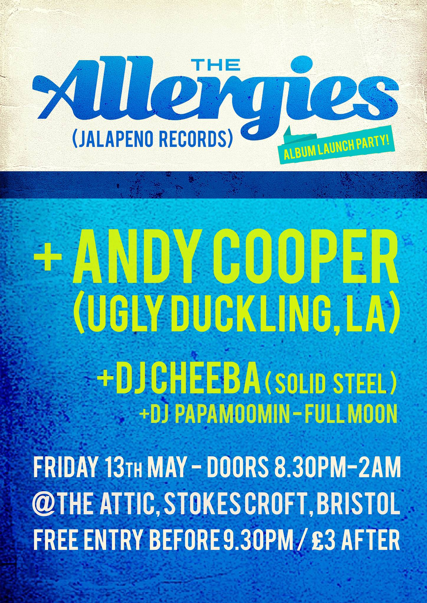 The Allergies Album Launch Party ft. Andy Cooper (Ugly Duckling, LA)