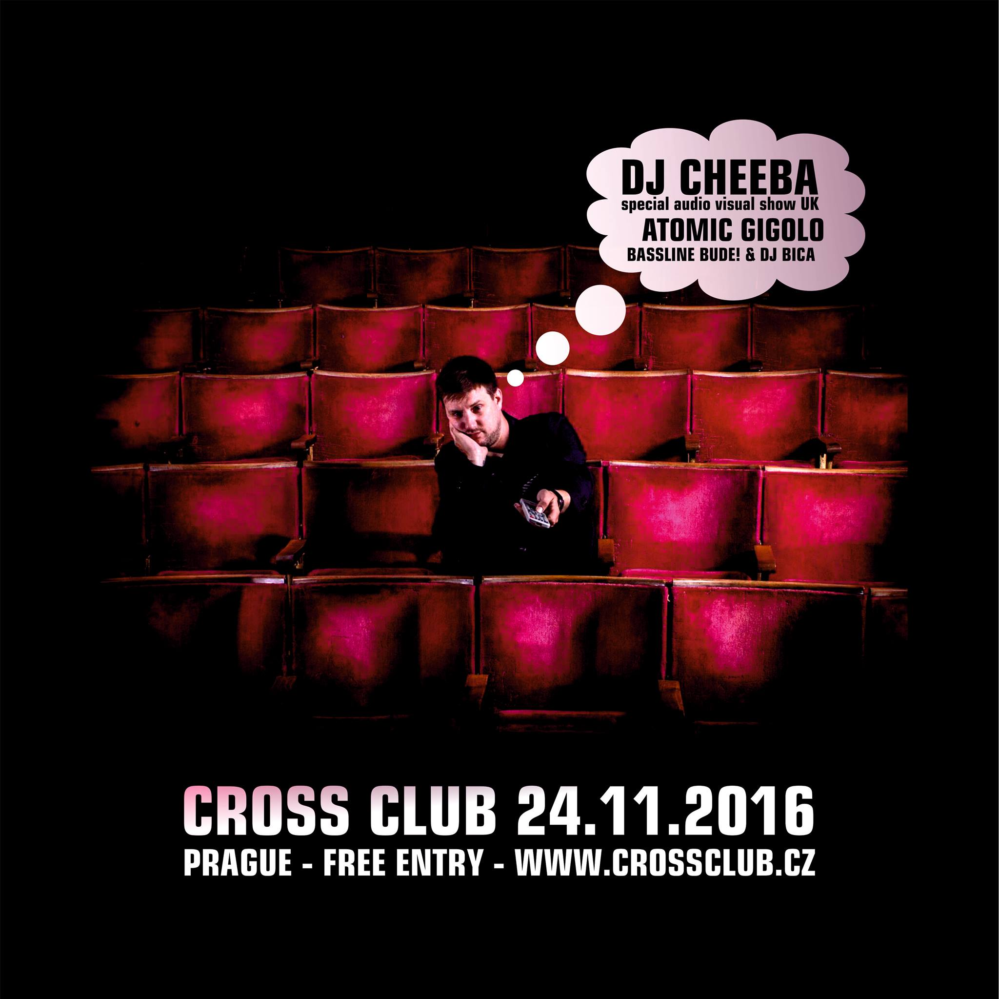 DJ Cheeba special AV show (UK) + Atomic Gigolo